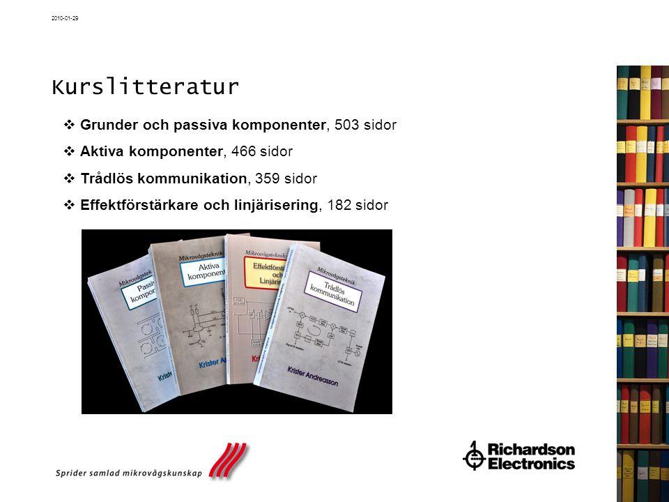Kurslitteratur Grunder och passiva komponenter, 503 sidor