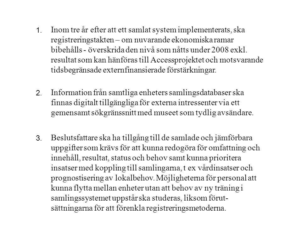 sättningarna för att förenkla registreringsmetoderna.