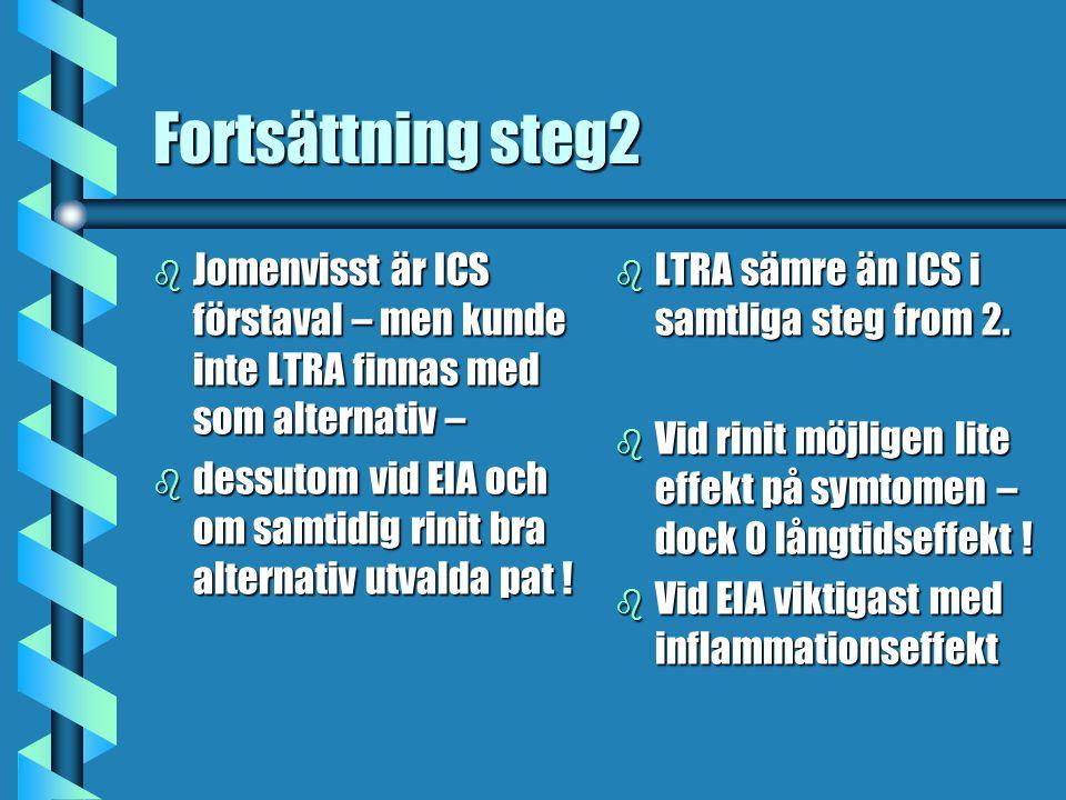 Fortsättning steg2 Jomenvisst är ICS förstaval – men kunde inte LTRA finnas med som alternativ –