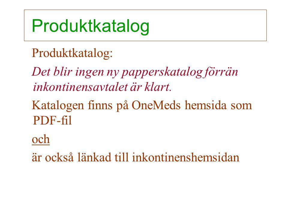 Produktkatalog Produktkatalog: