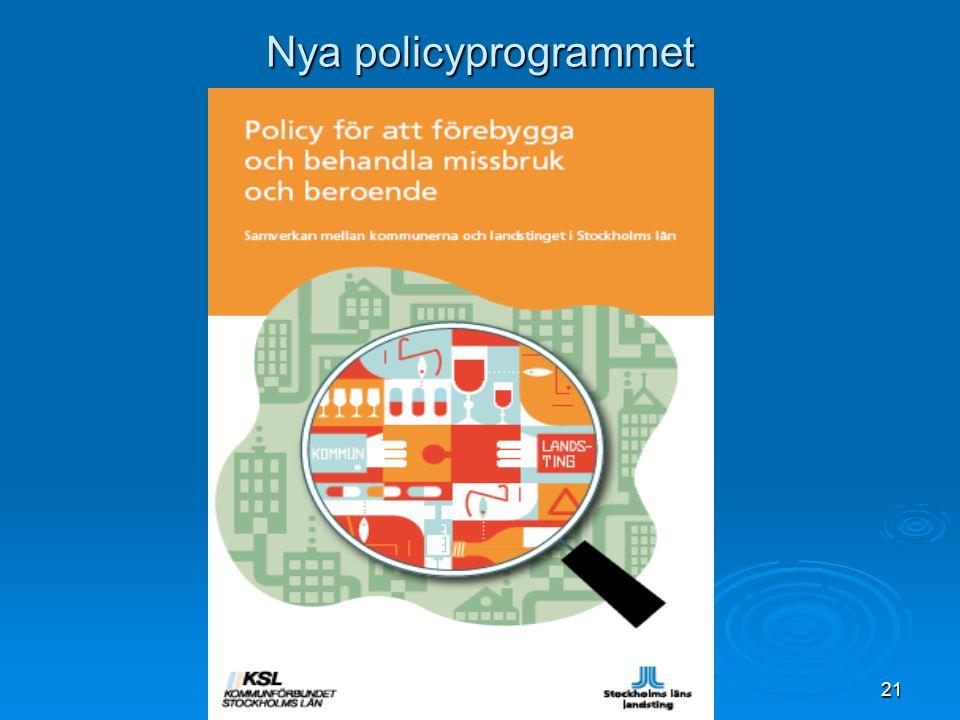 Nya policyprogrammet