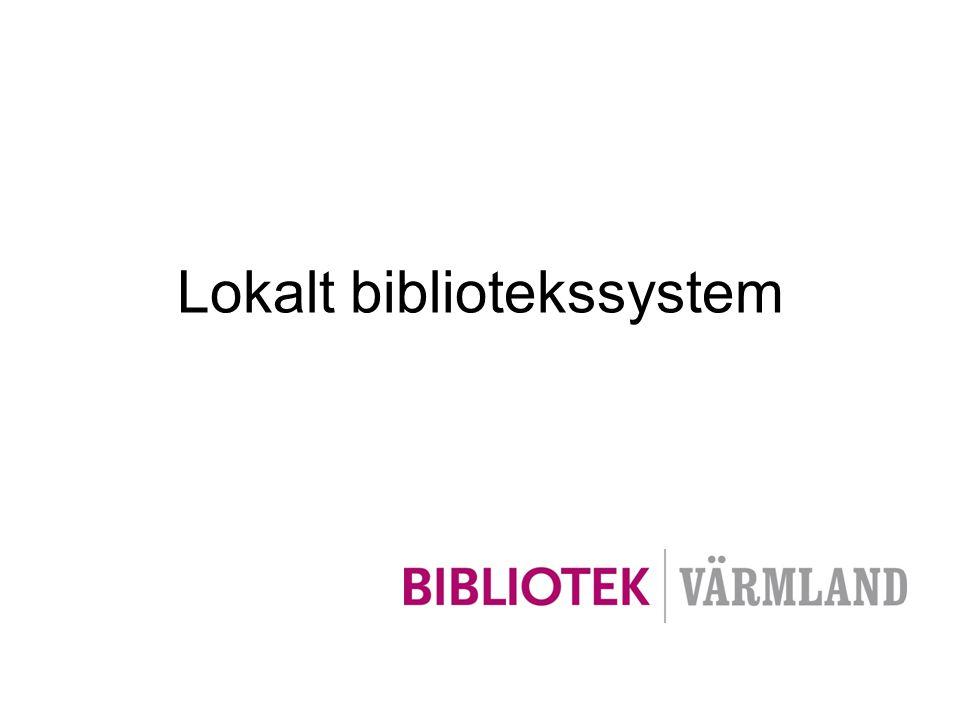 Lokalt bibliotekssystem