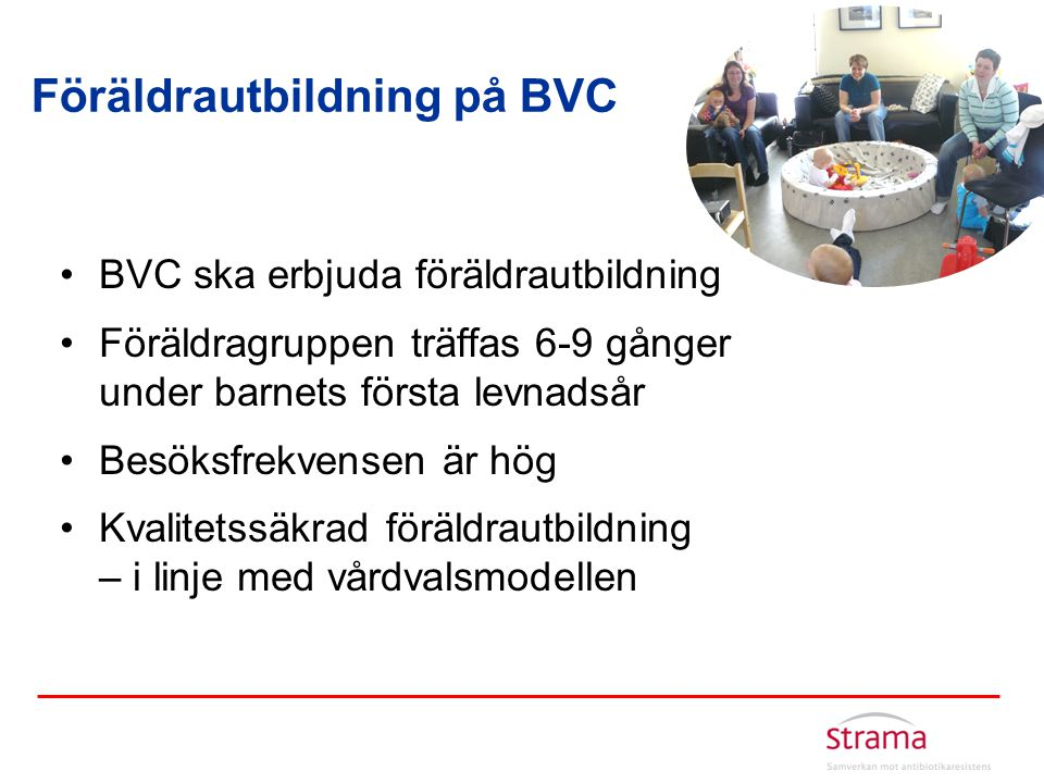 Föräldrautbildning på BVC