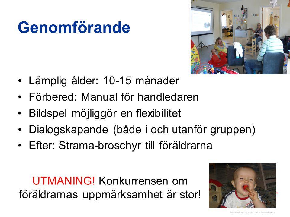UTMANING! Konkurrensen om föräldrarnas uppmärksamhet är stor!