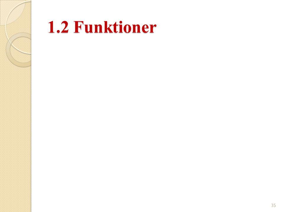 1.2 Funktioner