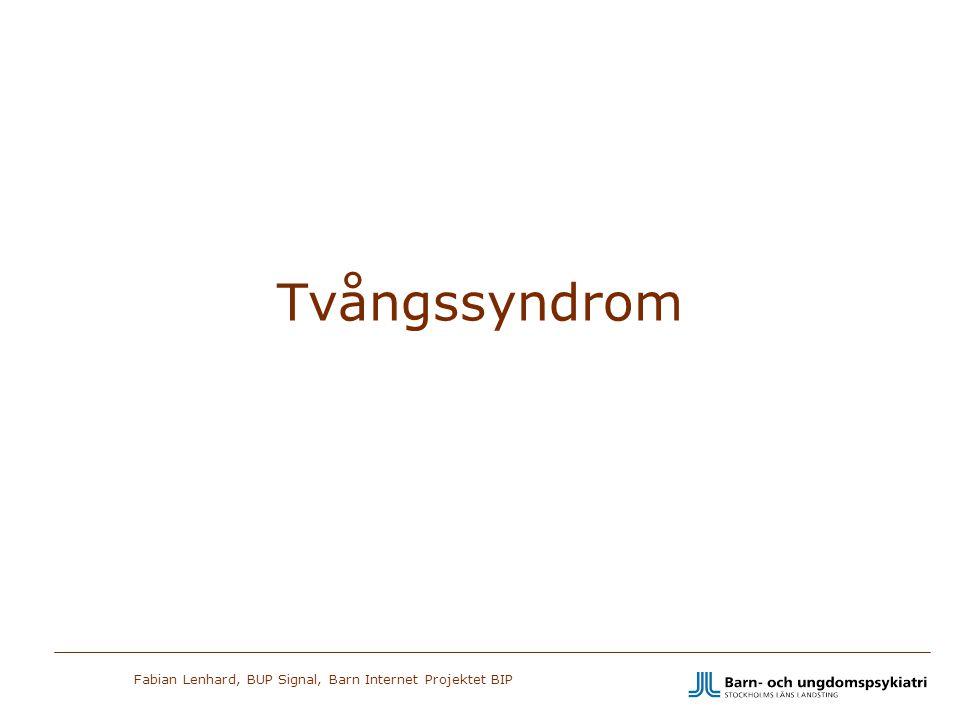 Tvångssyndrom