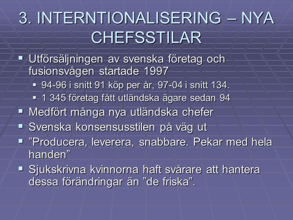 3. INTERNTIONALISERING – NYA CHEFSSTILAR