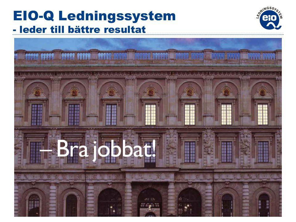 EIO-Q Ledningssystem - leder till bättre resultat