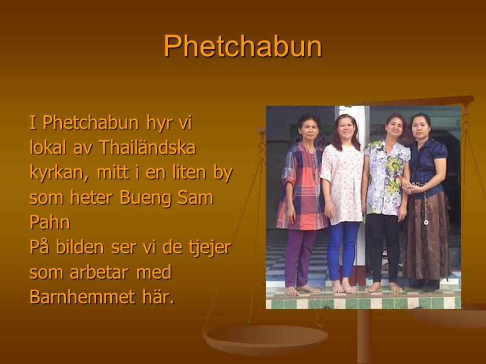 Phetchabun I Phetchabun hyr vi lokal av Thailändska