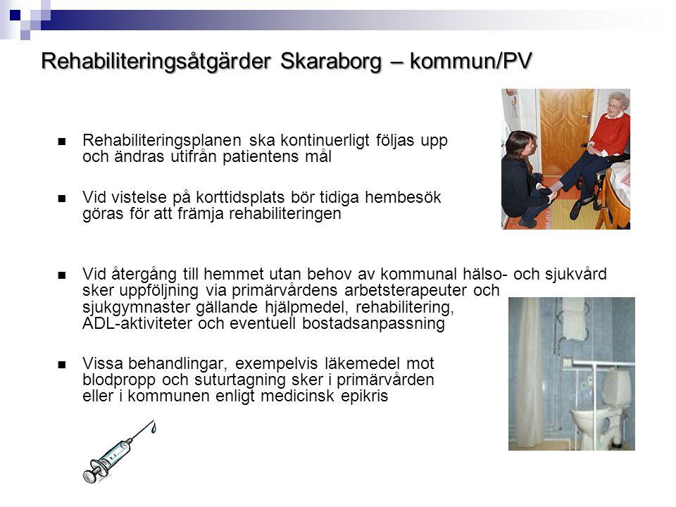 Rehabiliteringsåtgärder Skaraborg – kommun/PV