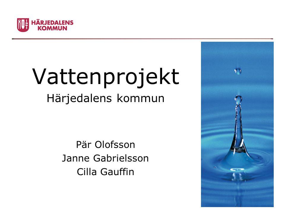 Vattenprojekt Härjedalens kommun Pär Olofsson Janne Gabrielsson