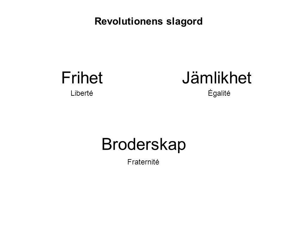 Revolutionens slagord