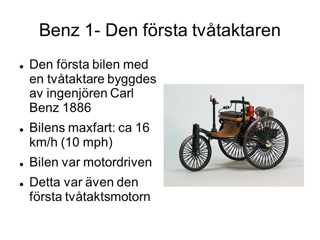 Benz 1- Den första tvåtaktaren