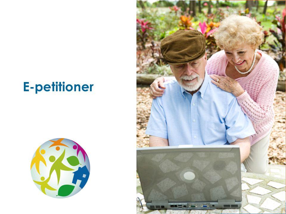 E-petitioner