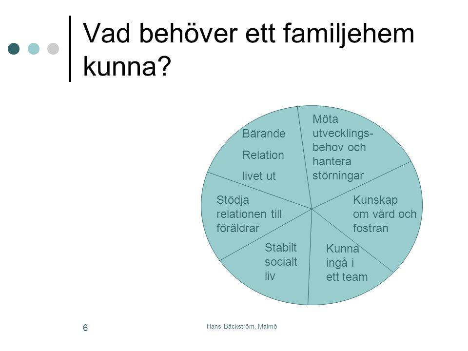 Vad behöver ett familjehem kunna