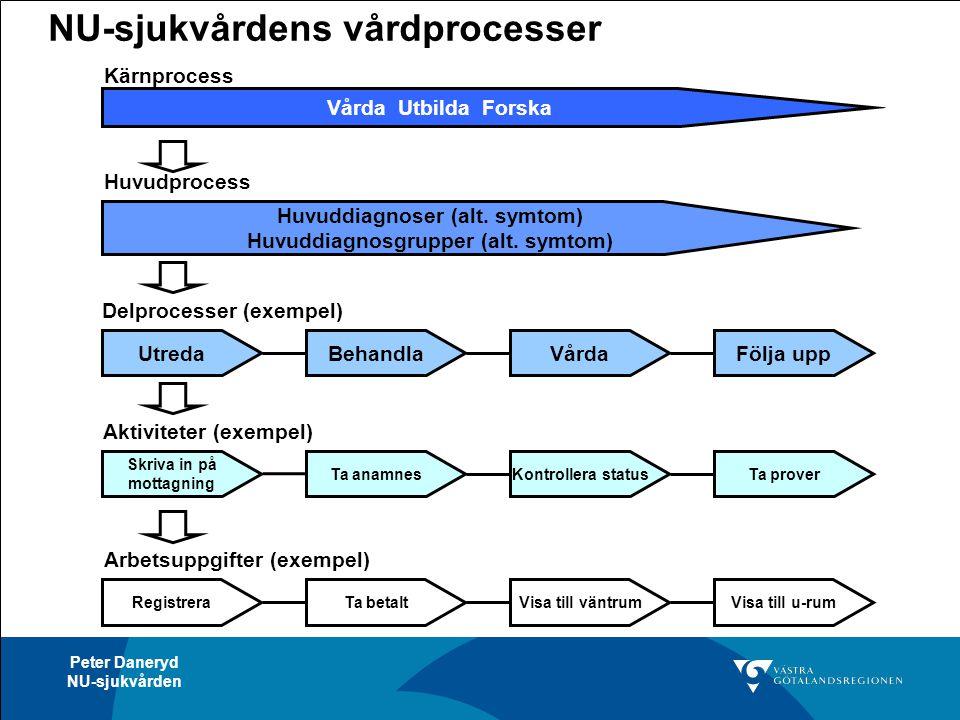 NU-sjukvårdens vårdprocesser