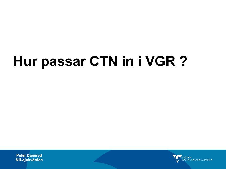 Hur passar CTN in i VGR