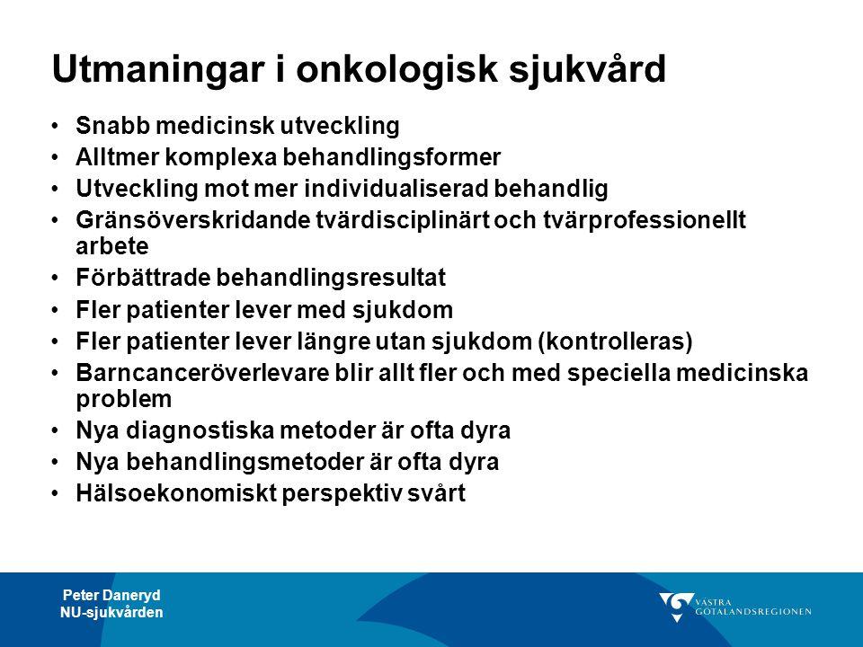Utmaningar i onkologisk sjukvård