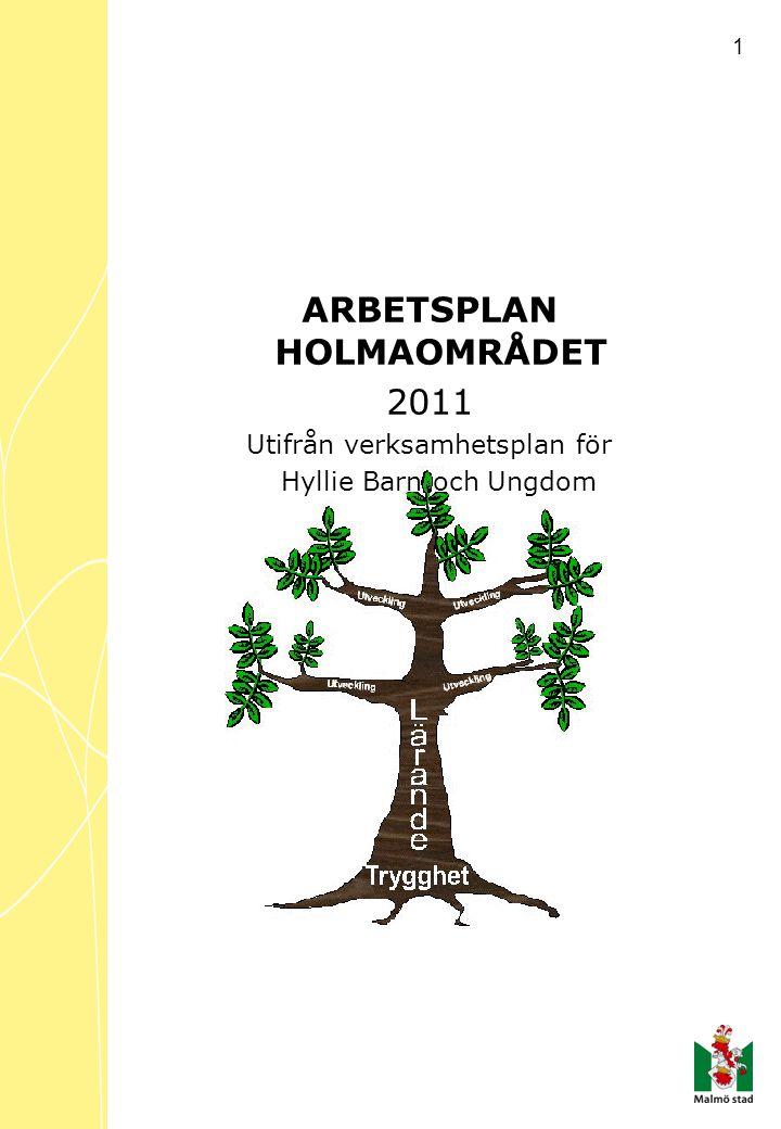 ARBETSPLAN HOLMAOMRÅDET