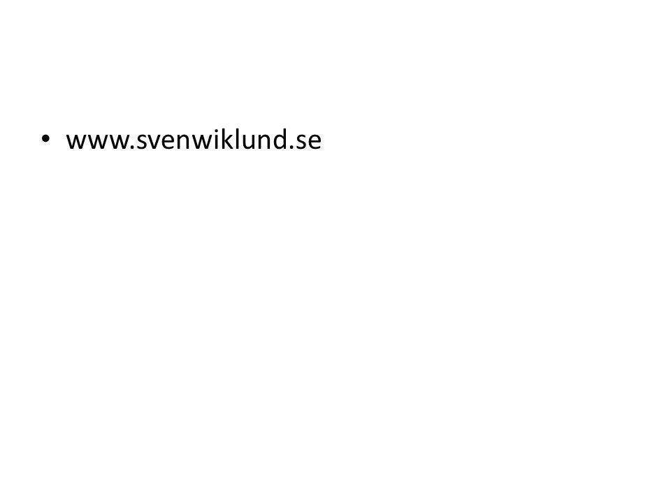www.svenwiklund.se