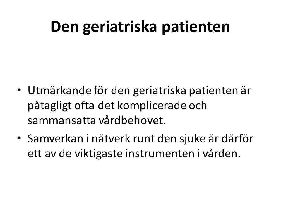 Den geriatriska patienten