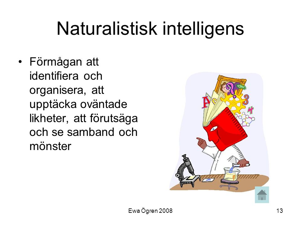 Naturalistisk intelligens