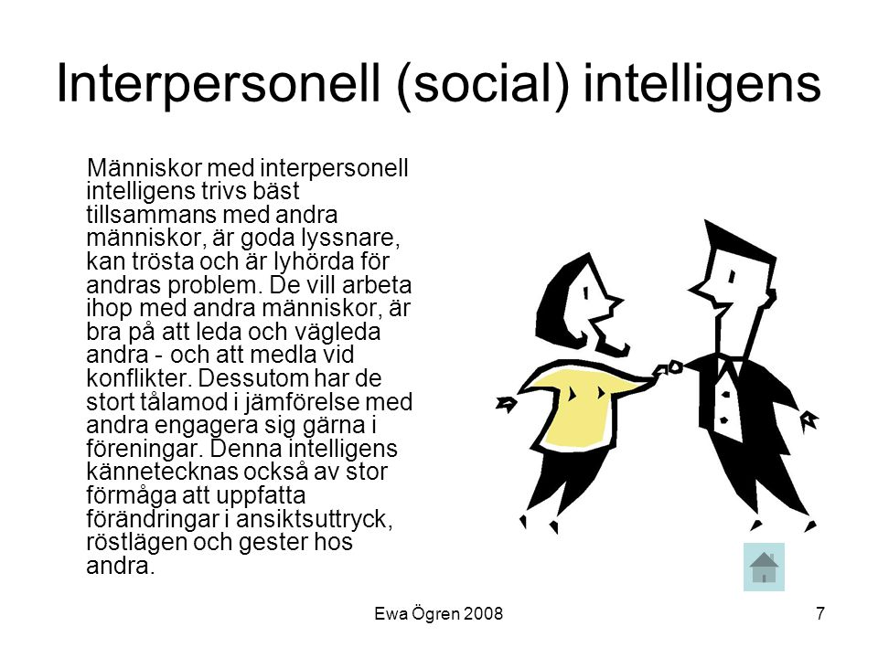 Interpersonell (social) intelligens