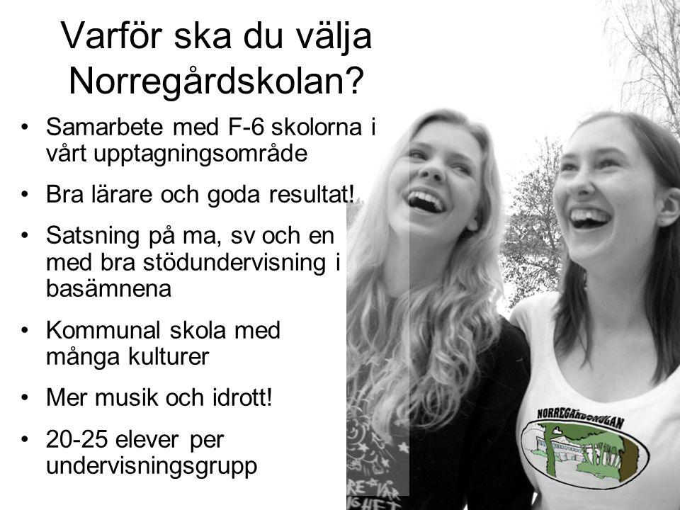 Varför ska du välja Norregårdskolan