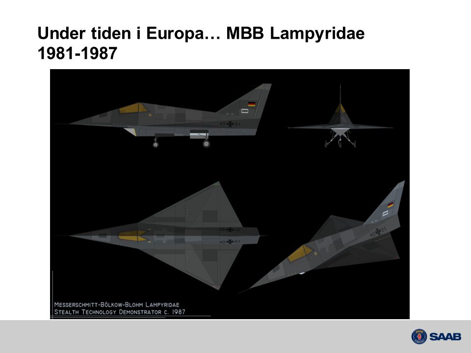 Under tiden i Europa… MBB Lampyridae 1981-1987