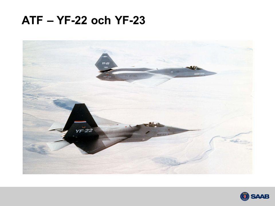 ATF – YF-22 och YF-23