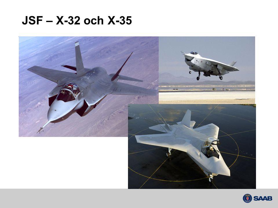 JSF – X-32 och X-35