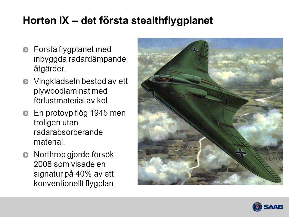 Horten IX – det första stealthflygplanet
