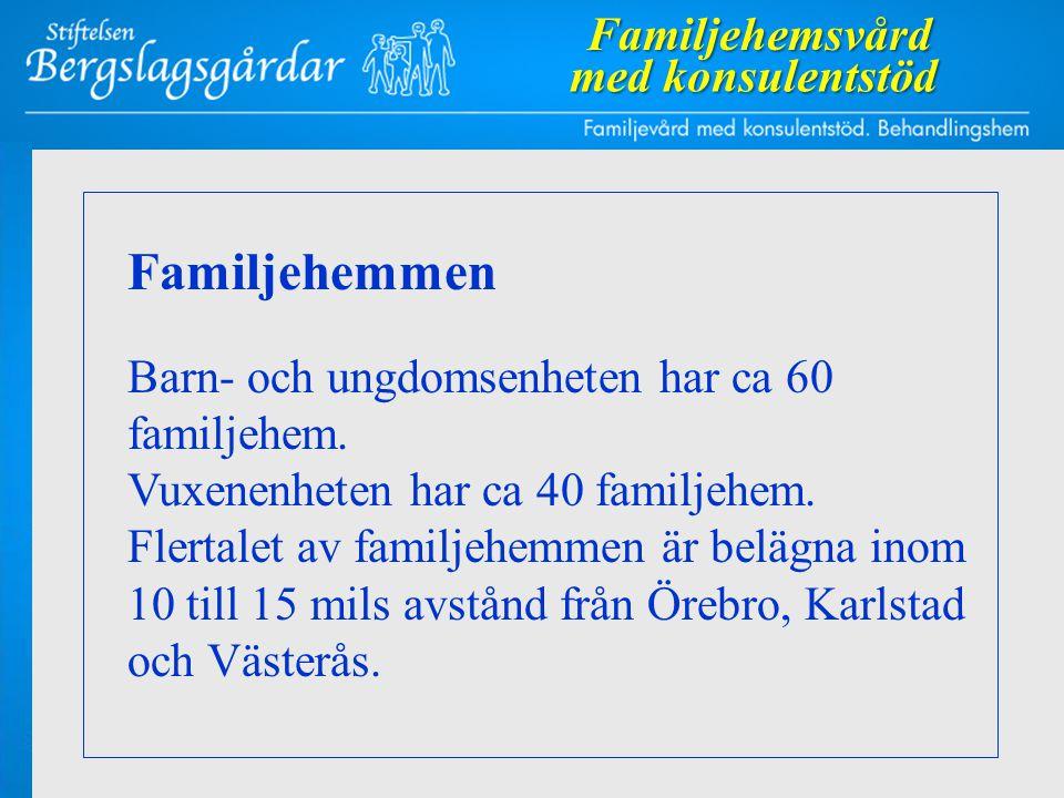 Familjehemmen Familjehemsvård med konsulentstöd
