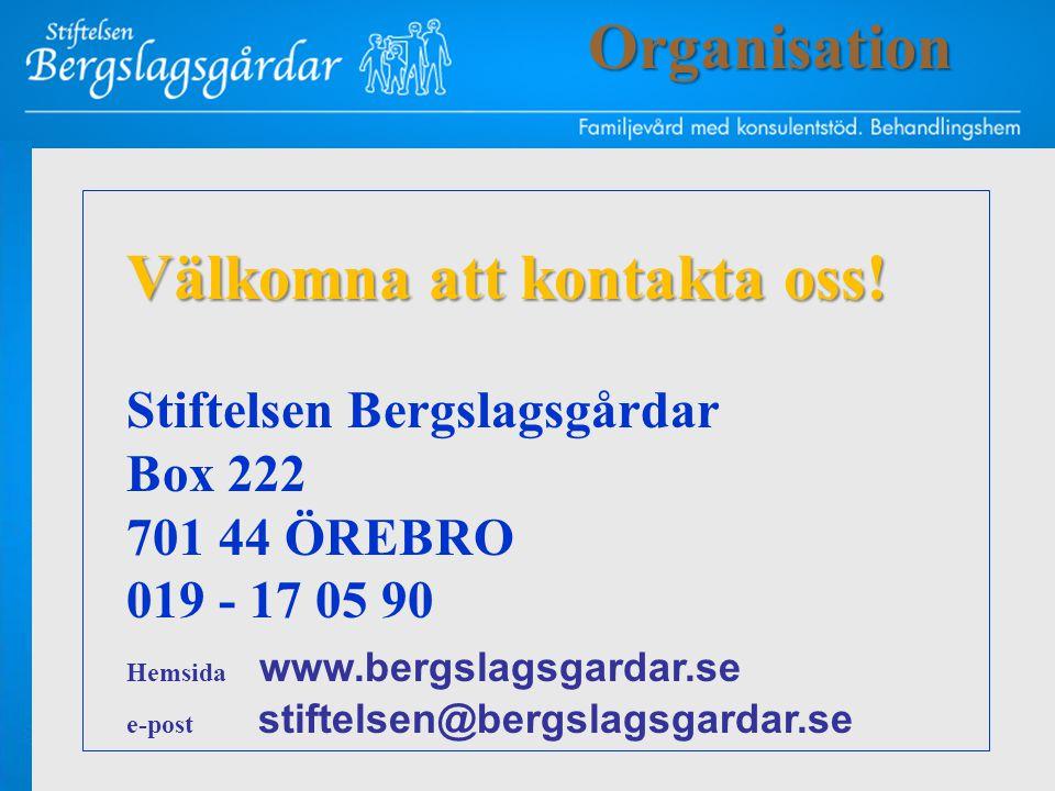 Välkomna att kontakta oss!