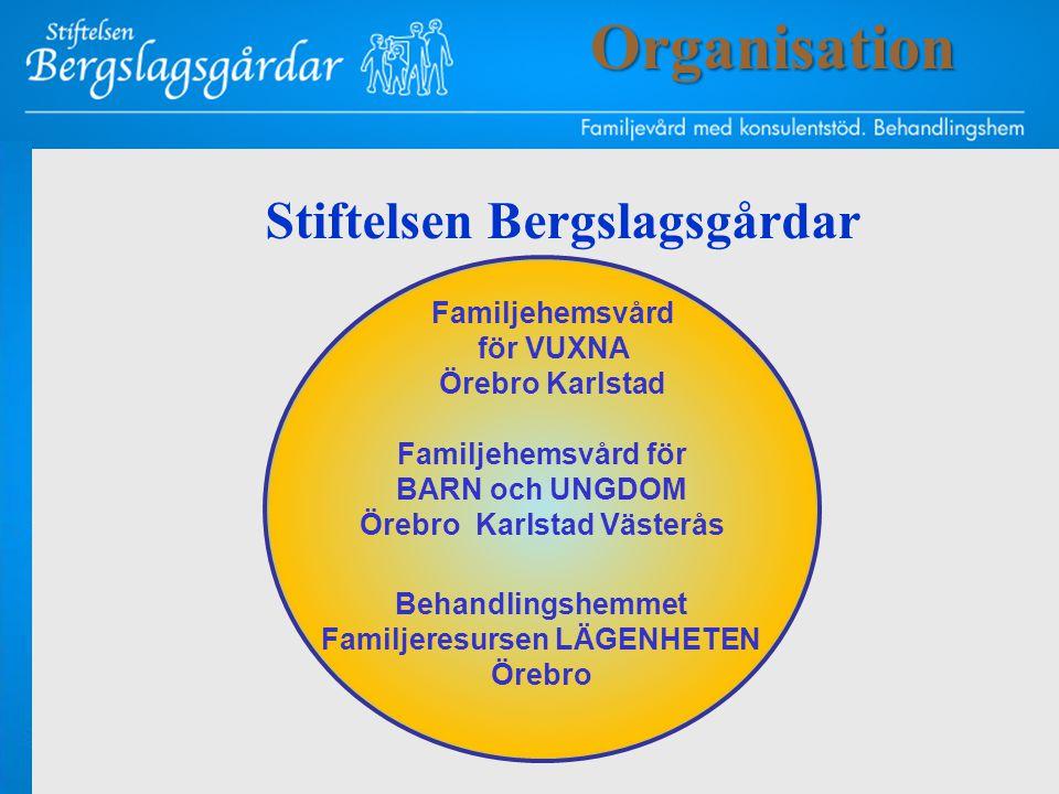 Organisation Stiftelsen Bergslagsgårdar