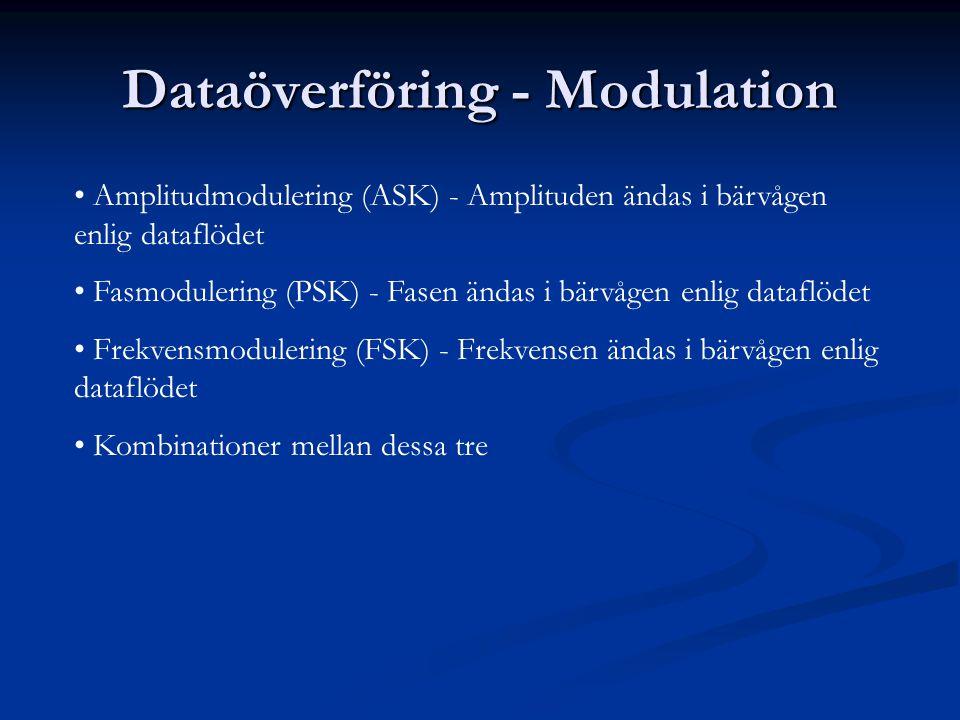 Dataöverföring - Modulation