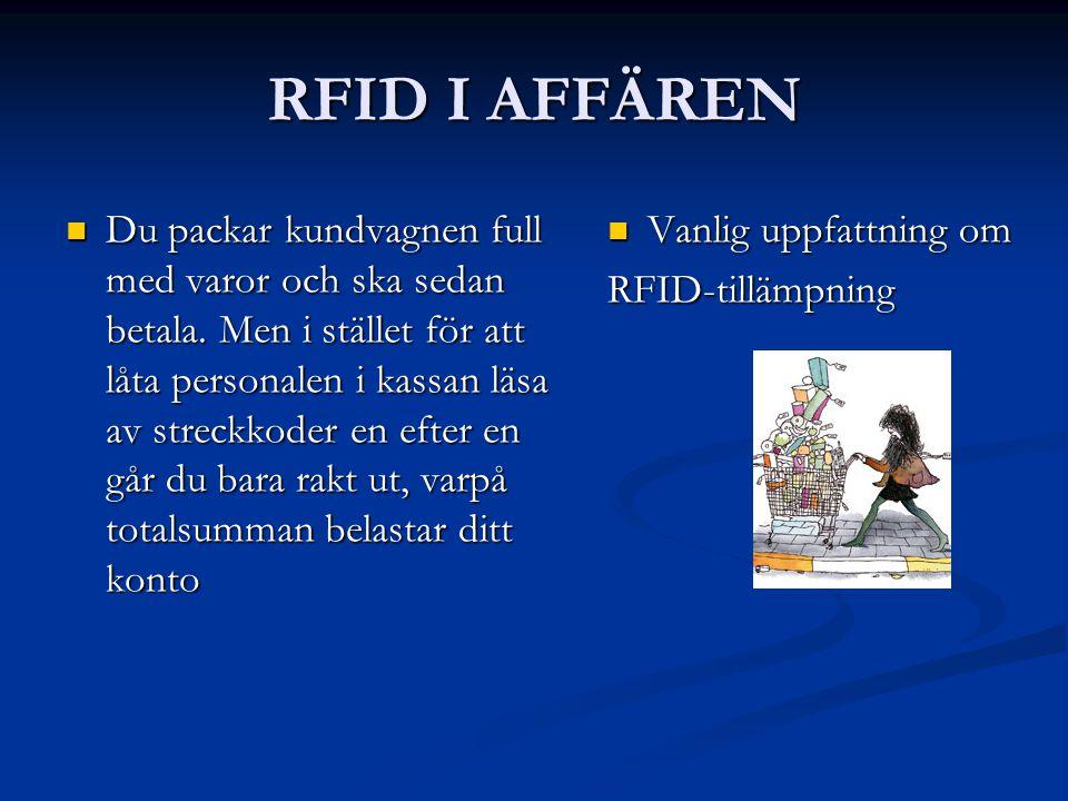 RFID I AFFÄREN