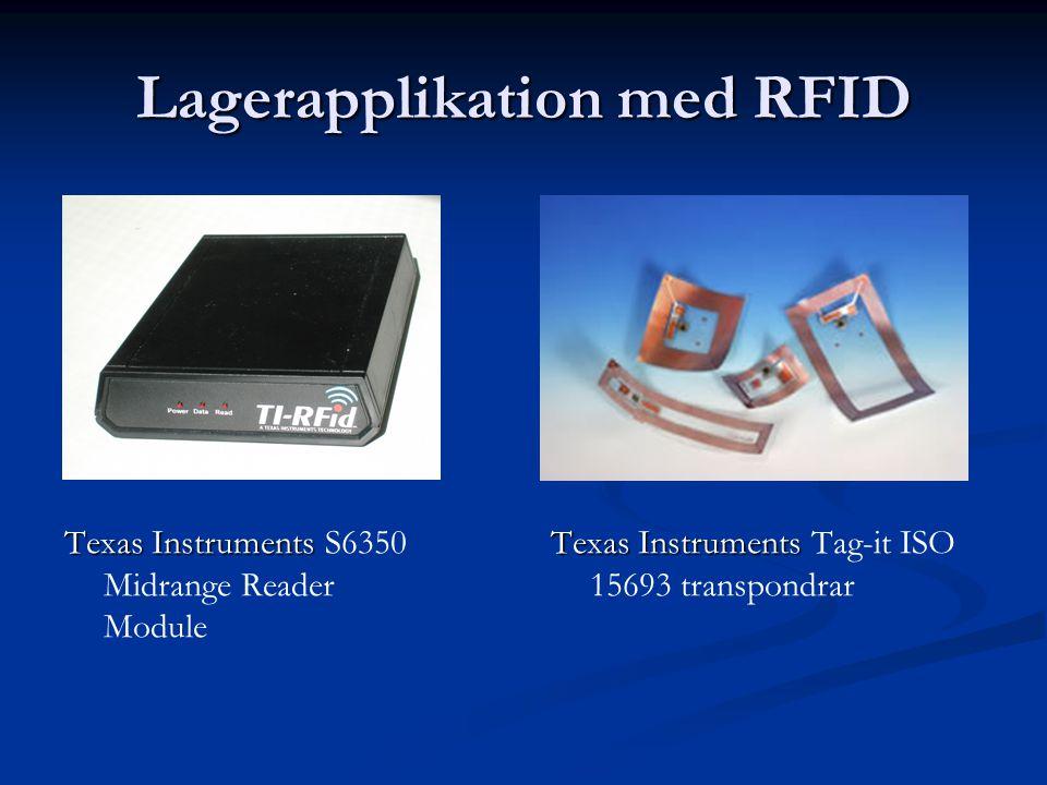 Lagerapplikation med RFID