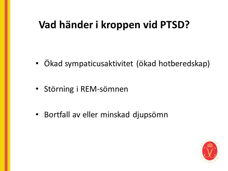 Vad händer i kroppen vid PTSD