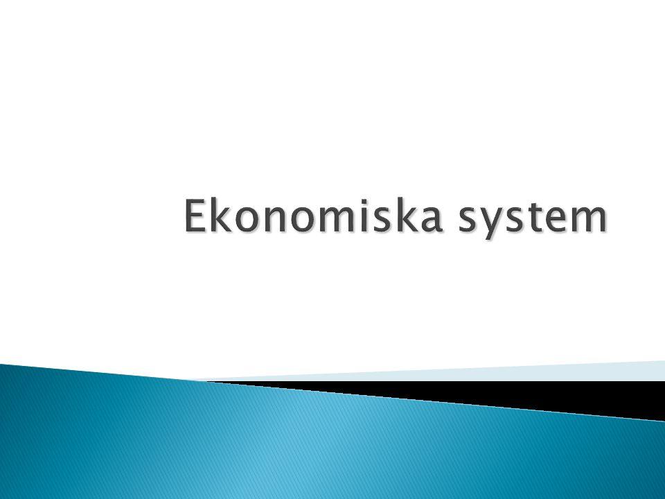 Ekonomiska system