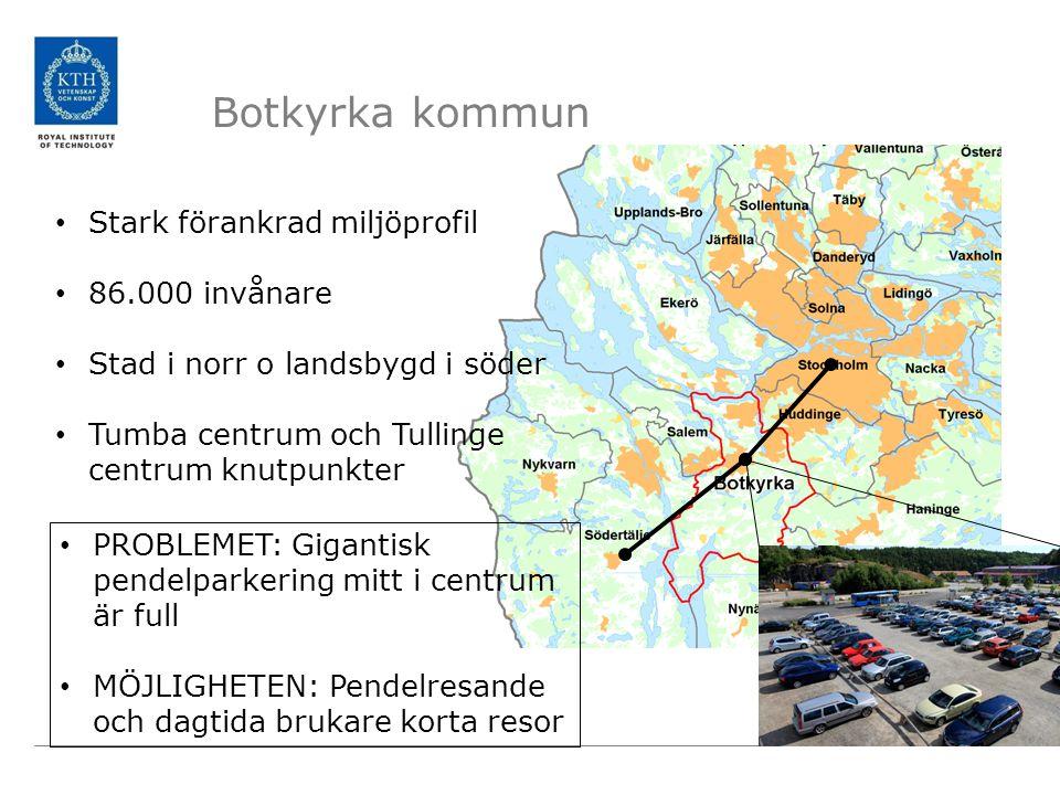 Botkyrka kommun Stark förankrad miljöprofil 86.000 invånare