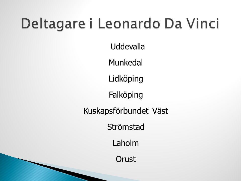 Deltagare i Leonardo Da Vinci