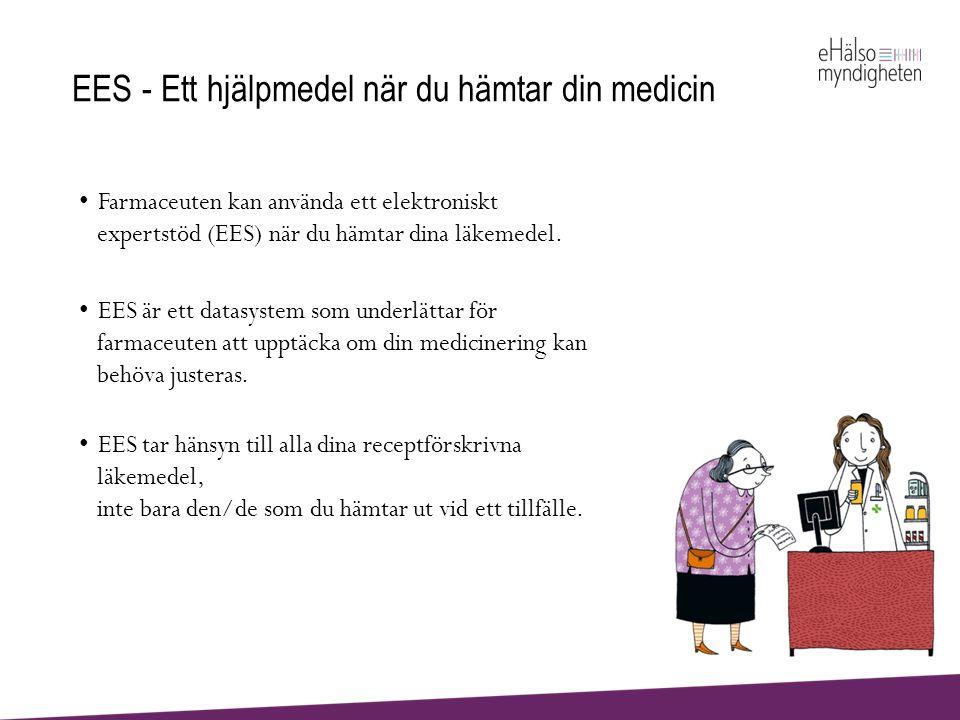 EES - Ett hjälpmedel när du hämtar din medicin