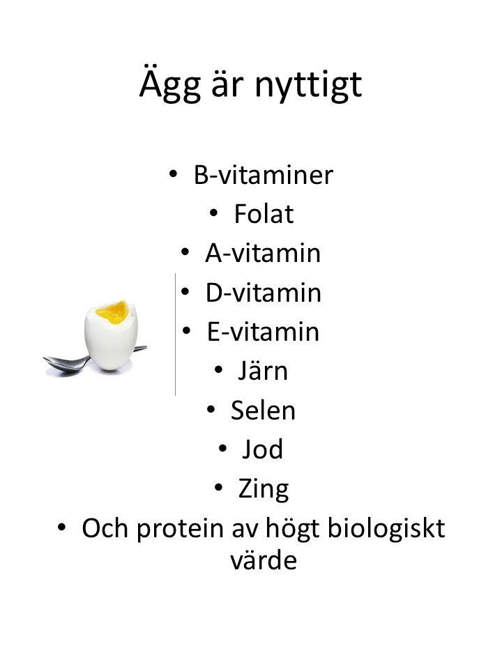 Och protein av högt biologiskt värde
