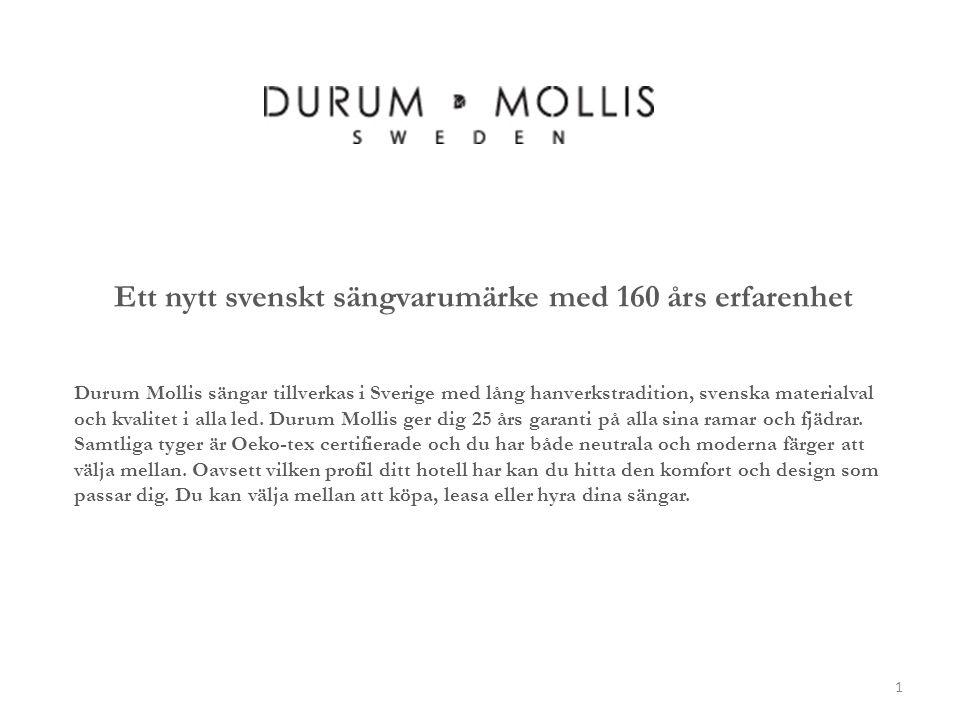 Ett nytt svenskt sängvarumärke med 160 års erfarenhet