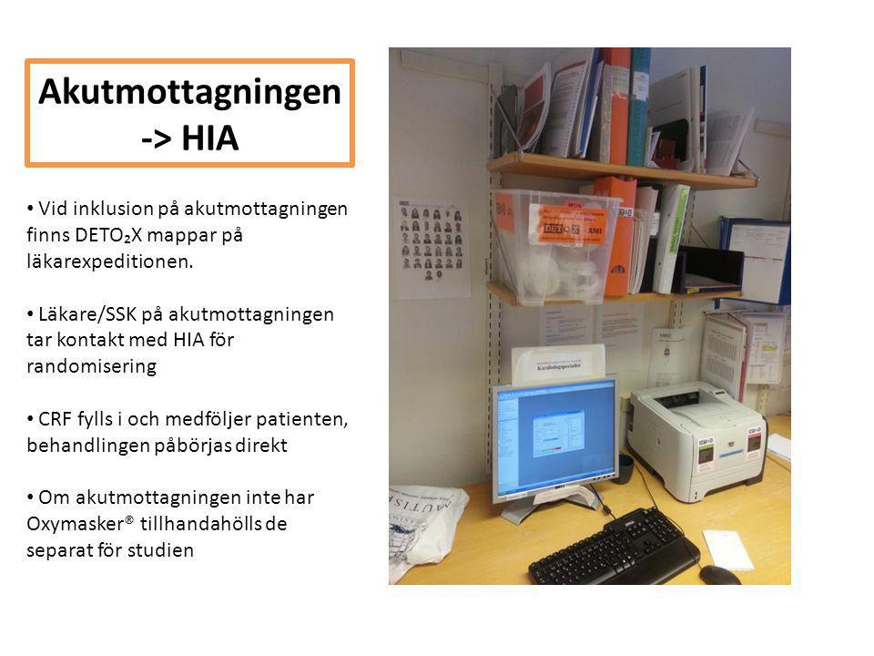Akutmottagningen -> HIA