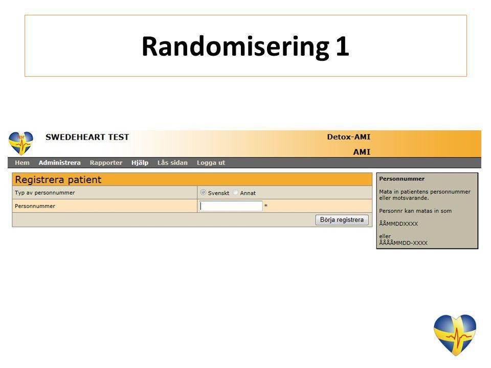 Randomisering 1