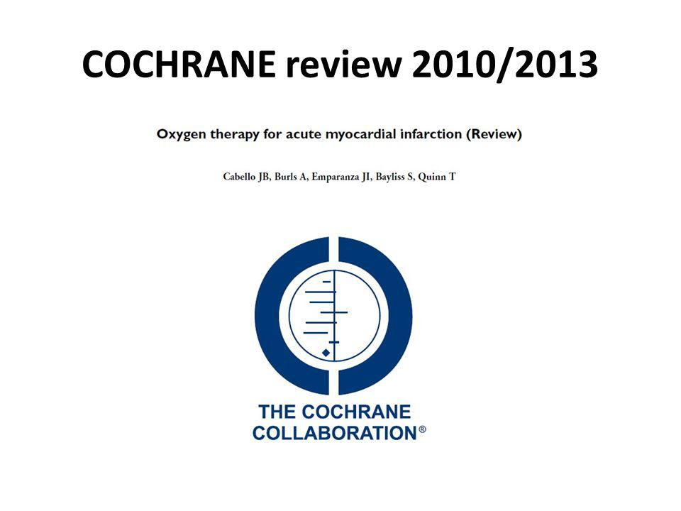COCHRANE review 2010/2013