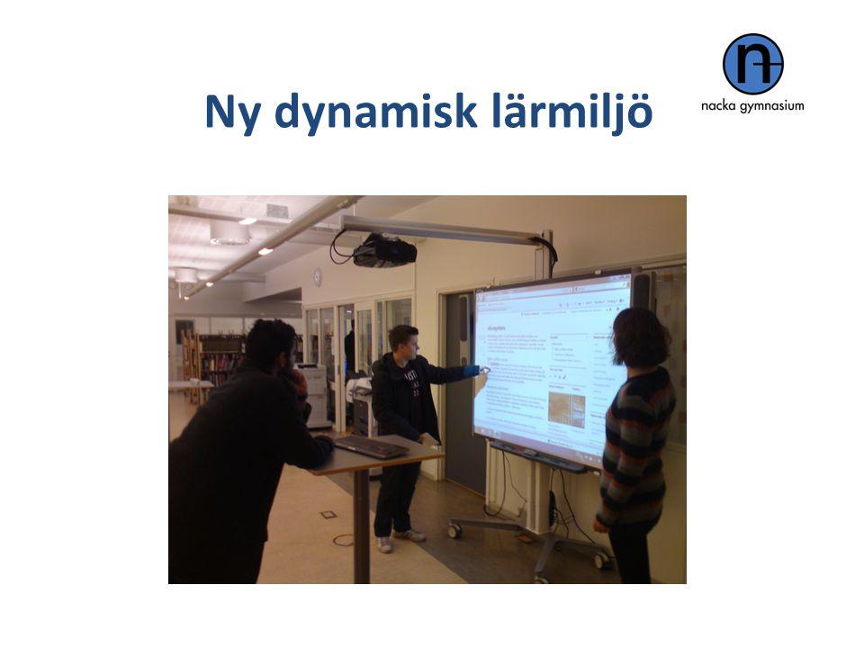 Ny dynamisk lärmiljö Efter