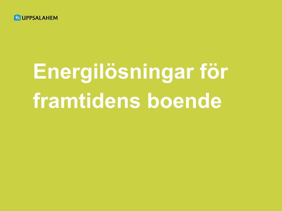 Energilösningar för framtidens boende